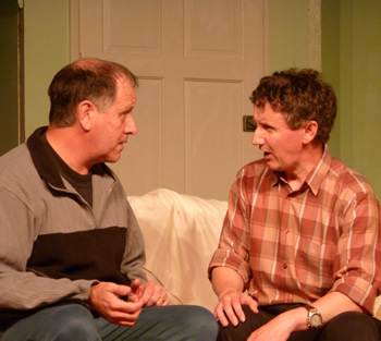 Alan Dester (Eric Swan) and Colin Pile (Norman Bassett)