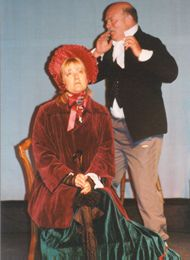 Aunt Betsey (Jan Bursby) & Mr Dick (Dave Williams)