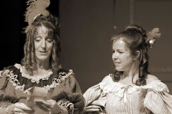 Anna (Jan Singfield) and Marya (Caroline McBrearty)