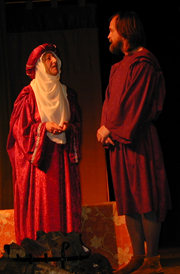 Eleanor (Margaret Pope) & Henry (Mark Ellen)