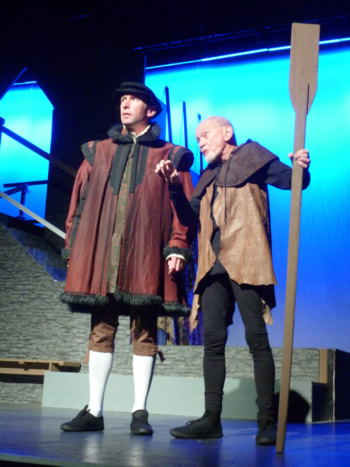 Sam Moulton (Sir Thomas More) and Michael J Smith (The Common Man)