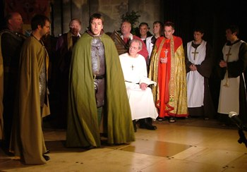 Knights, Priests and Monks with Becket