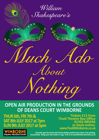Poster image for Much Ado About Nothing