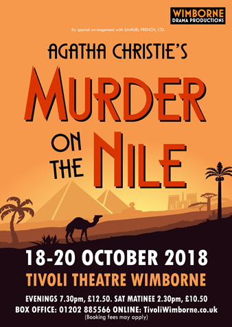 Murder on the Nile poster