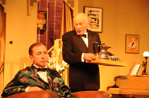 Garry Essendine (Sam Moulton) and Fred (Michael J Smith)