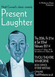 Image of poster of Present Laughter