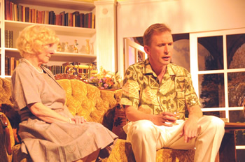 Felicity (Sheila Dove) and Don (Sam Moulton)