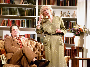 Peter (Gary Paine) and Felicity (Sheila Dove)